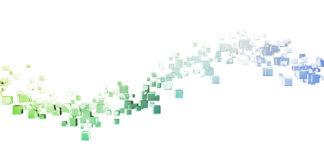 blockchain technology data concept as a background