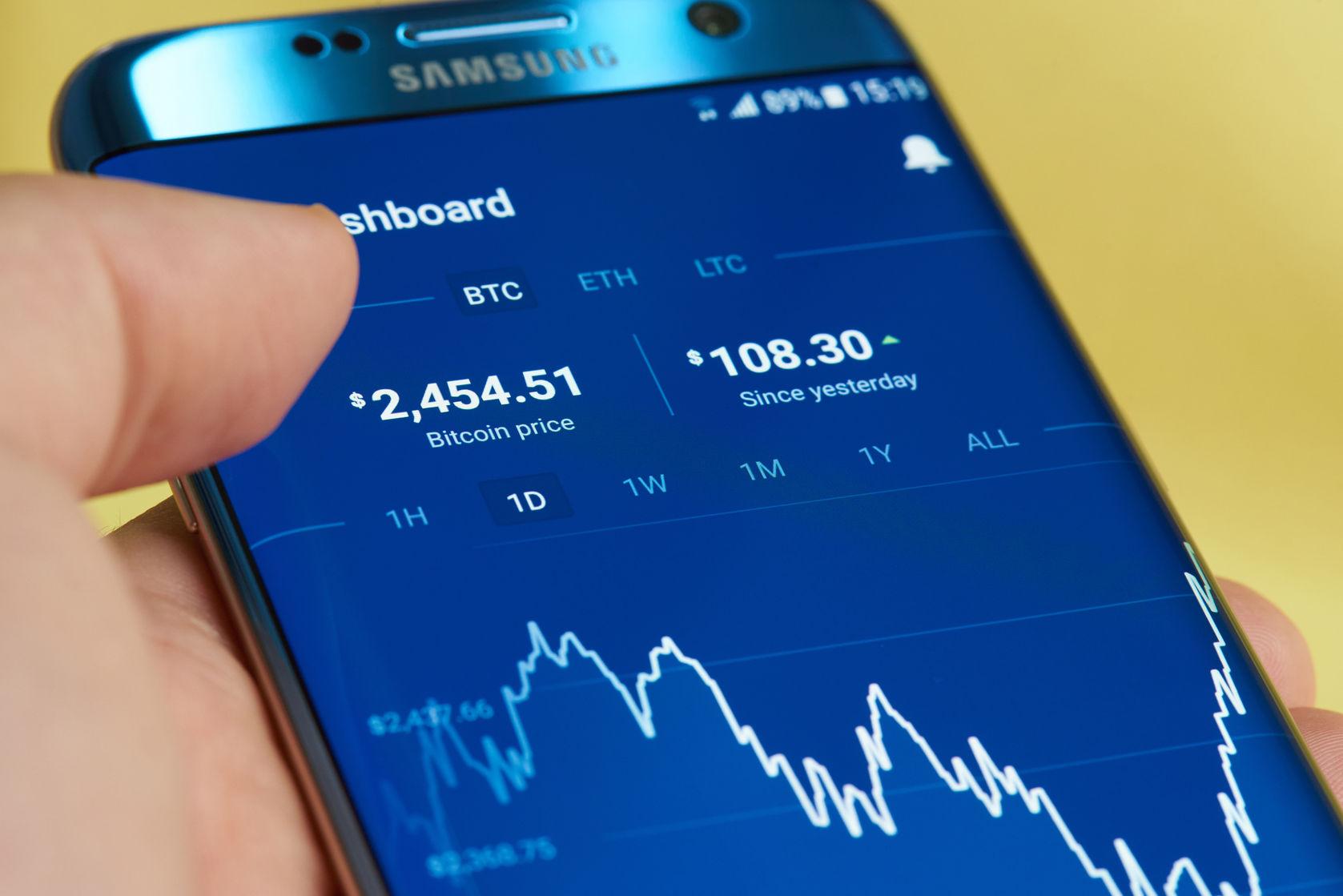 geriausia bitcoin day trading app